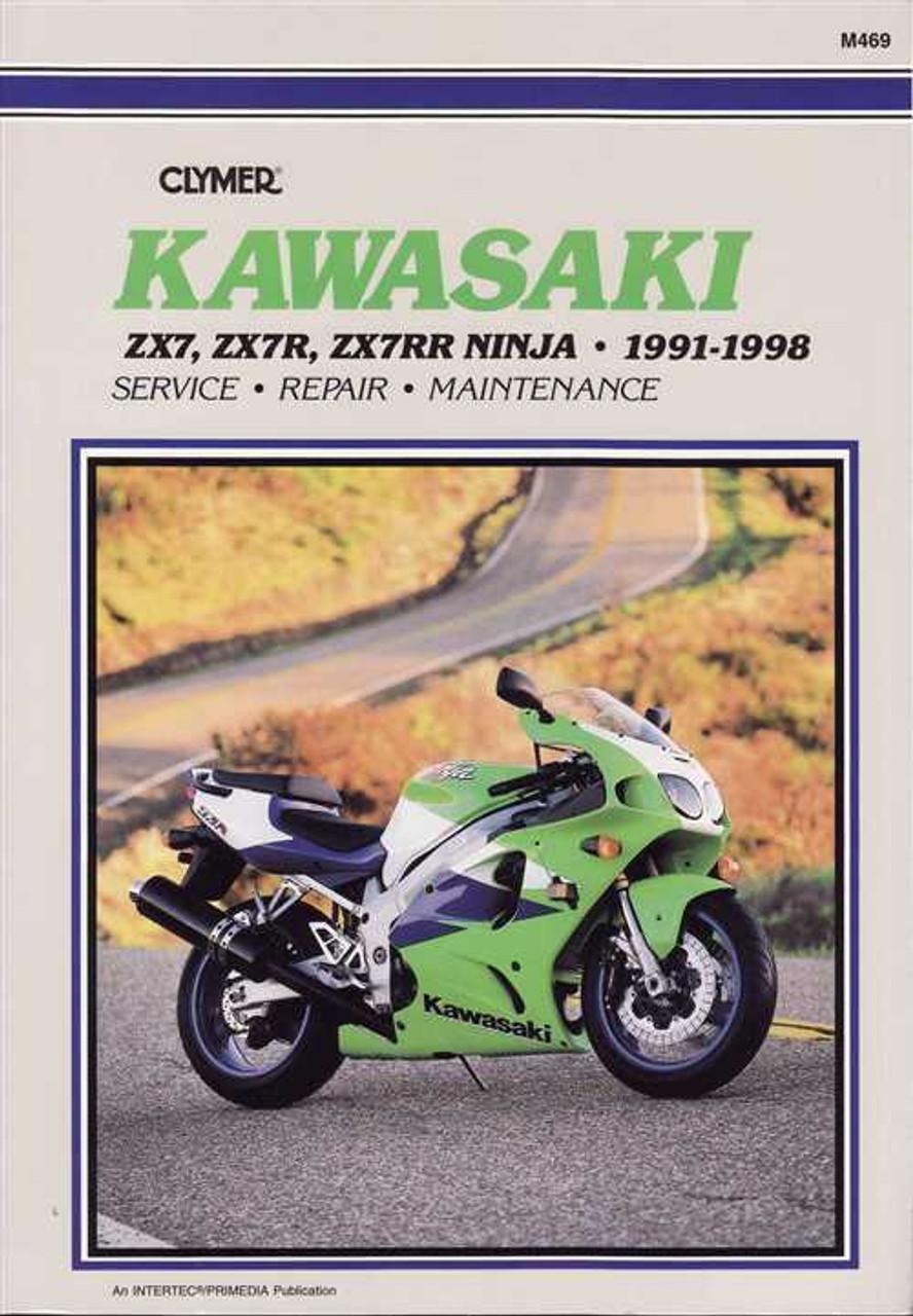 kawasaki zx7 zx7r zx7rr ninja 1991 1998 workshop manual rh automotobookshop com au 1998 Kawasaki Ninja ZX6 Kawasaki Ninja ZX6R 636