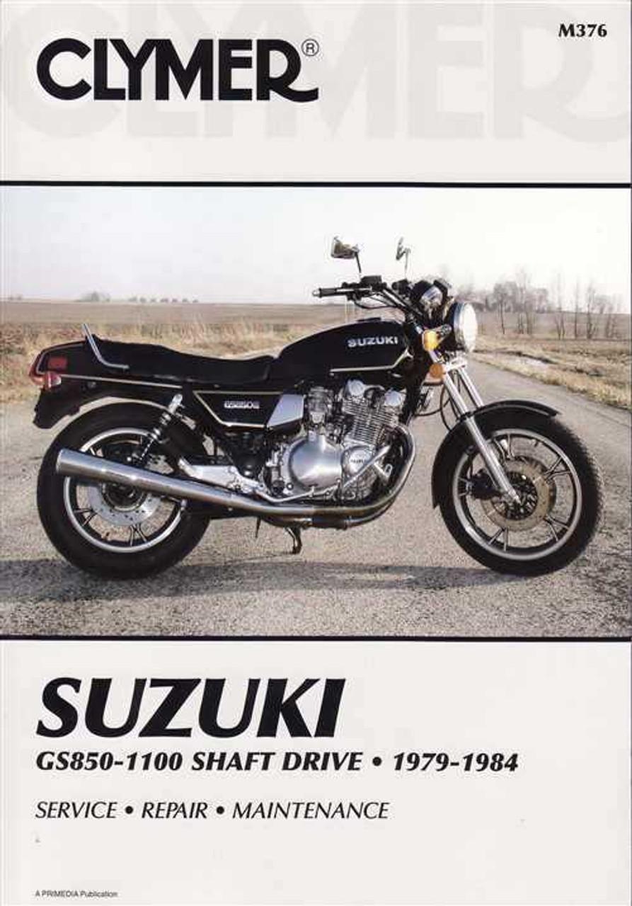 Suzuki Gs850  Gs1000  Gs1100 Shaft Drive 1979