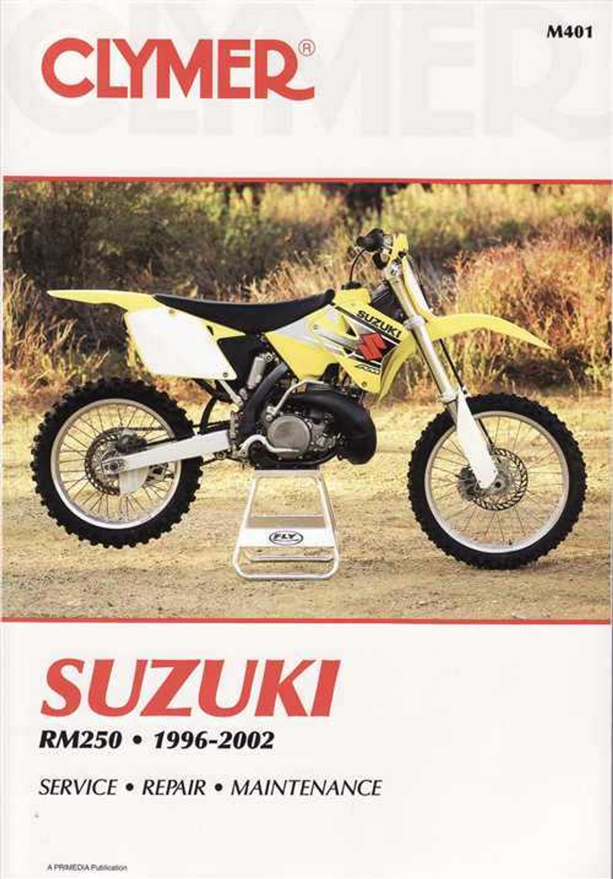 suzuki rm250 1996 2002 workshop manual rh automotobookshop com au 2004 suzuki rmz 250 service manual pdf 2004 Suzuki 250 Motorcycle