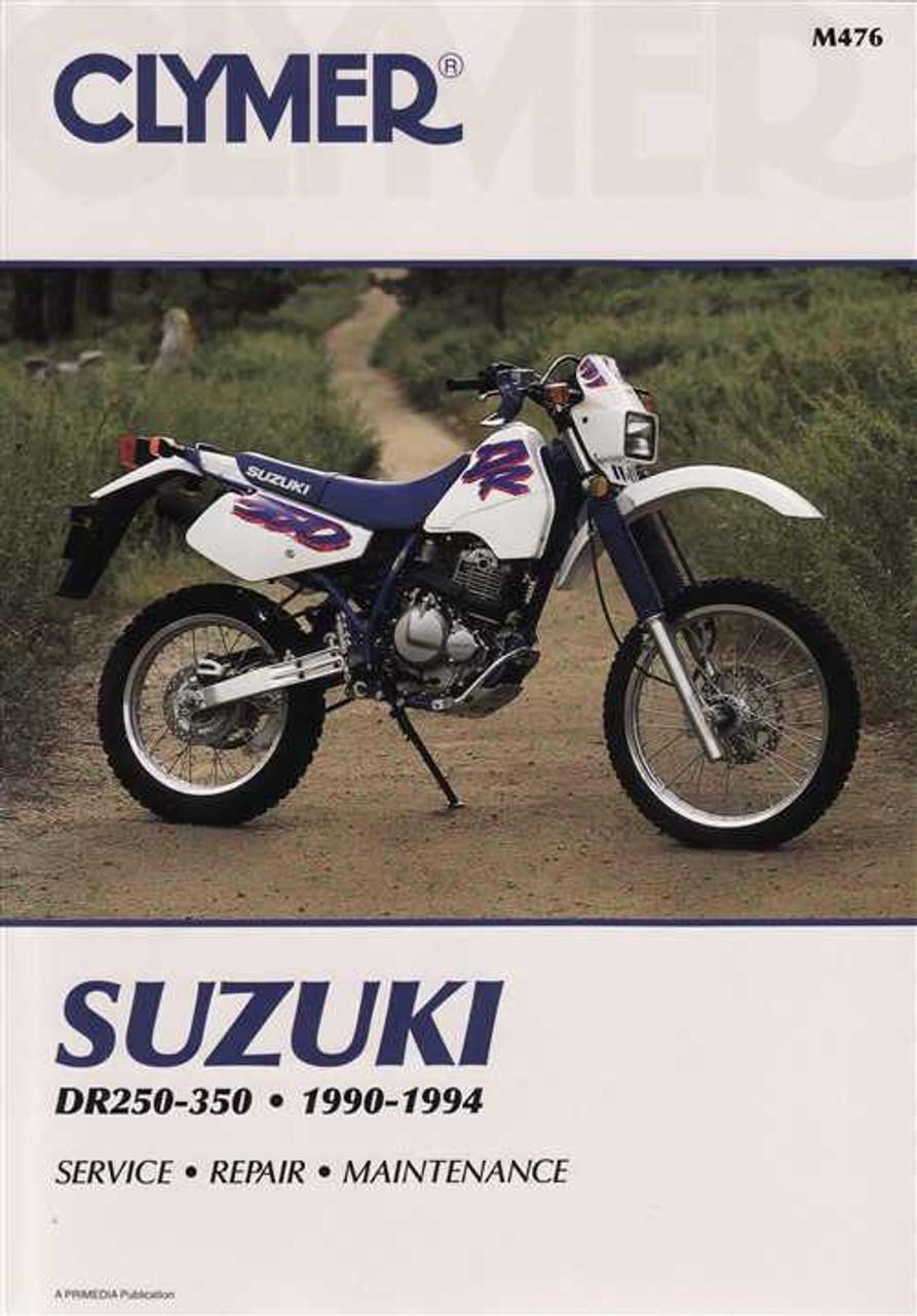 suzuki dr250 dr250s dr350 dr350s 1990 1994 workshop manual rh automotobookshop com au 1980 Suzuki Pe 400 1980 Suzuki Pe 400