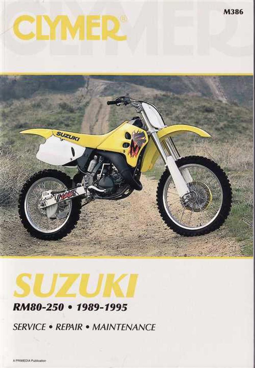 Suzuki Rm80  Rm125  Rm250  U0026 Rmx250 1989