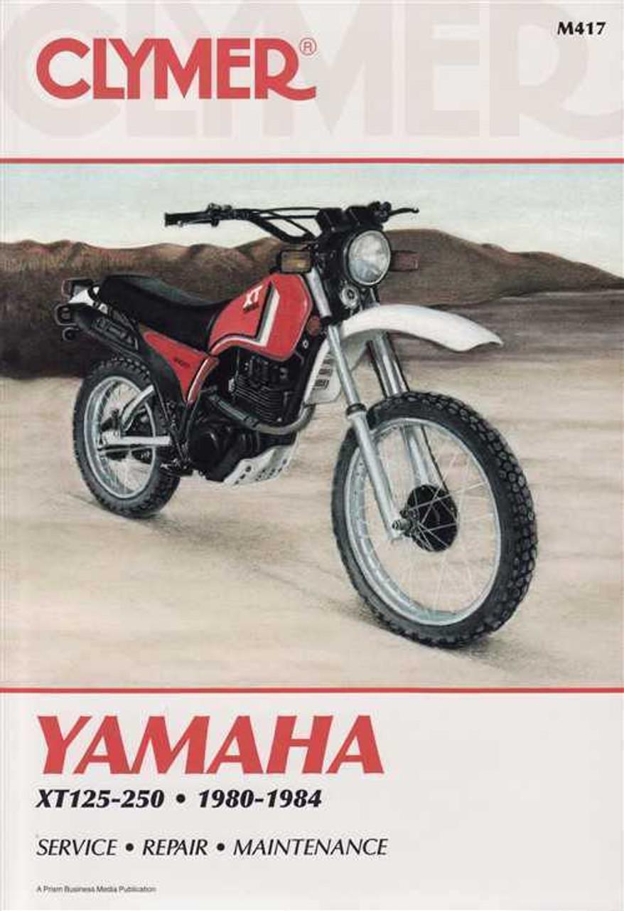 yamaha xt125 xt200 xt250 1980 1984 workshop manual rh automotobookshop com au Yamaha XT 200 Wiring Diagram Yamaha 200 Dirt Bike