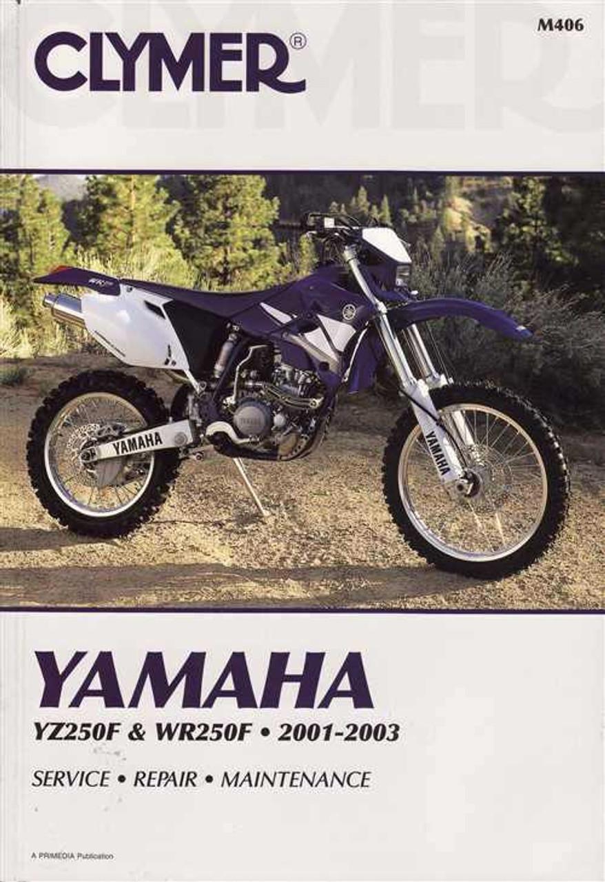 yamaha yz250f amp wr250f 2001 2003 workshop manual rh automotobookshop com au 2003 yz250f service manual 2003 YZ250F Oil Capacity