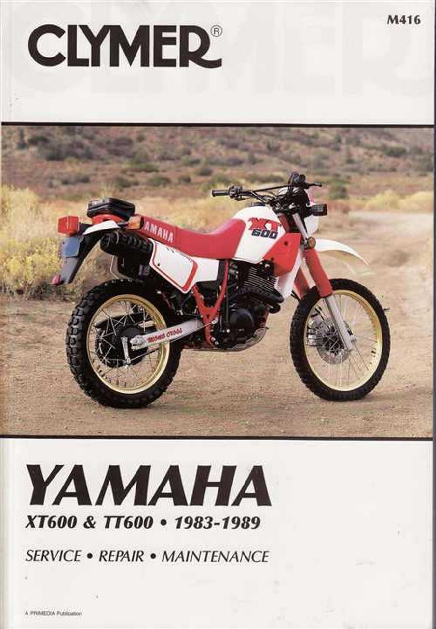 yamaha xt600 amp tt600 1983 1989 workshop manual rh automotobookshop com au 1986 yamaha xt 600 service manual yamaha xt 600 tenere service manual