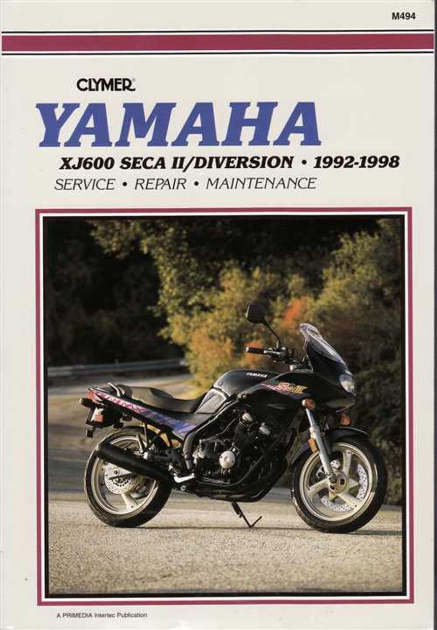 yamaha xj600 seca ii diversion 1992 1998 workshop manual rh automotobookshop com au Yamaha Seca 2 600 1998 Yamaha Seca II