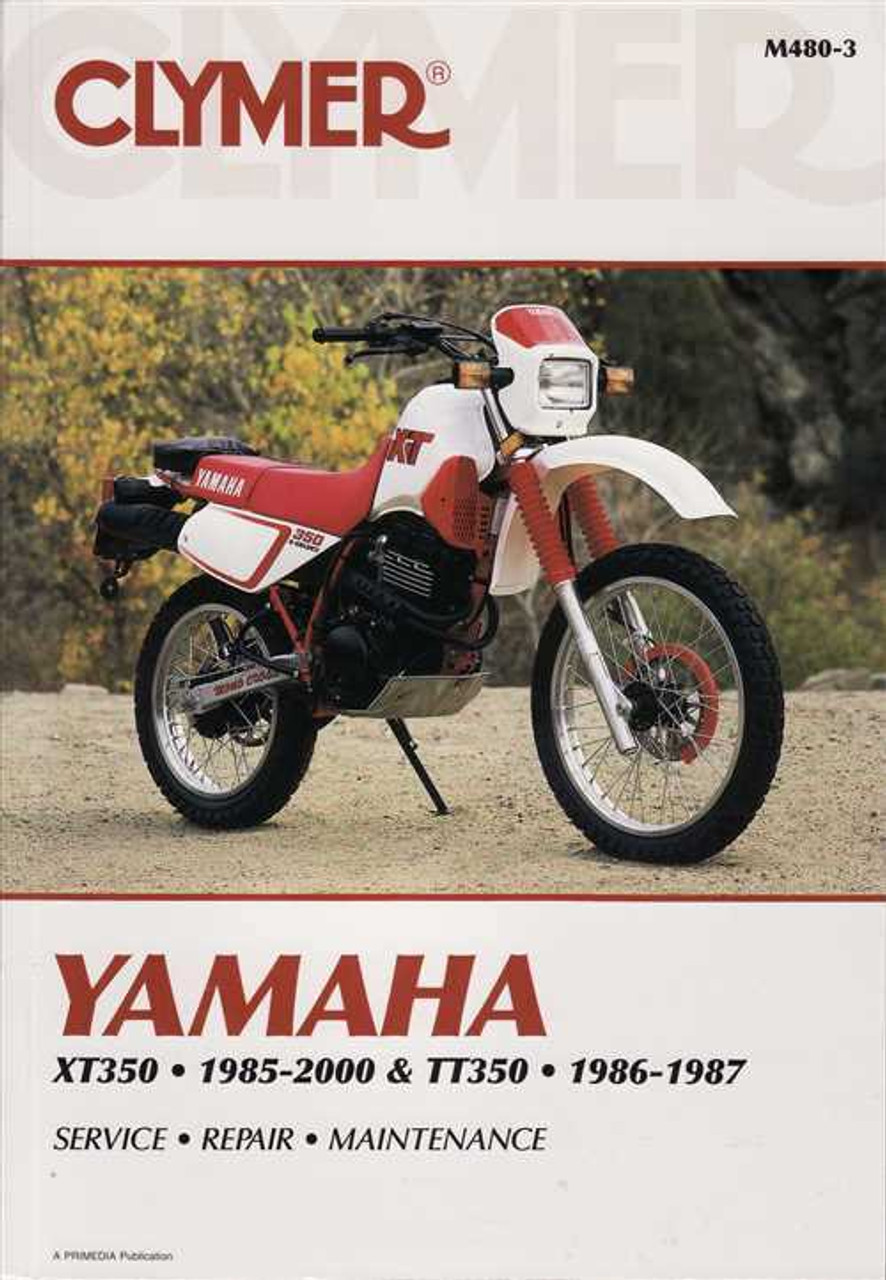 yamaha xt350 amp tt350 1985 2000 workshop manual rh automotobookshop com au