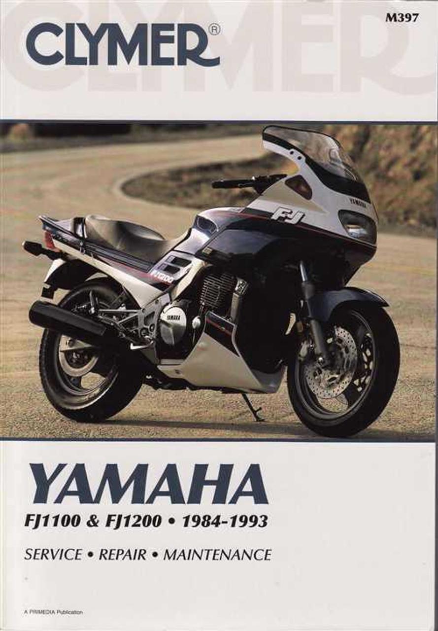 yamaha fj1100 amp fj1200 1984 1993 workshop manual rh automotobookshop com au yamaha fj 1200 service manual pdf free 1986 fj1200 service manual