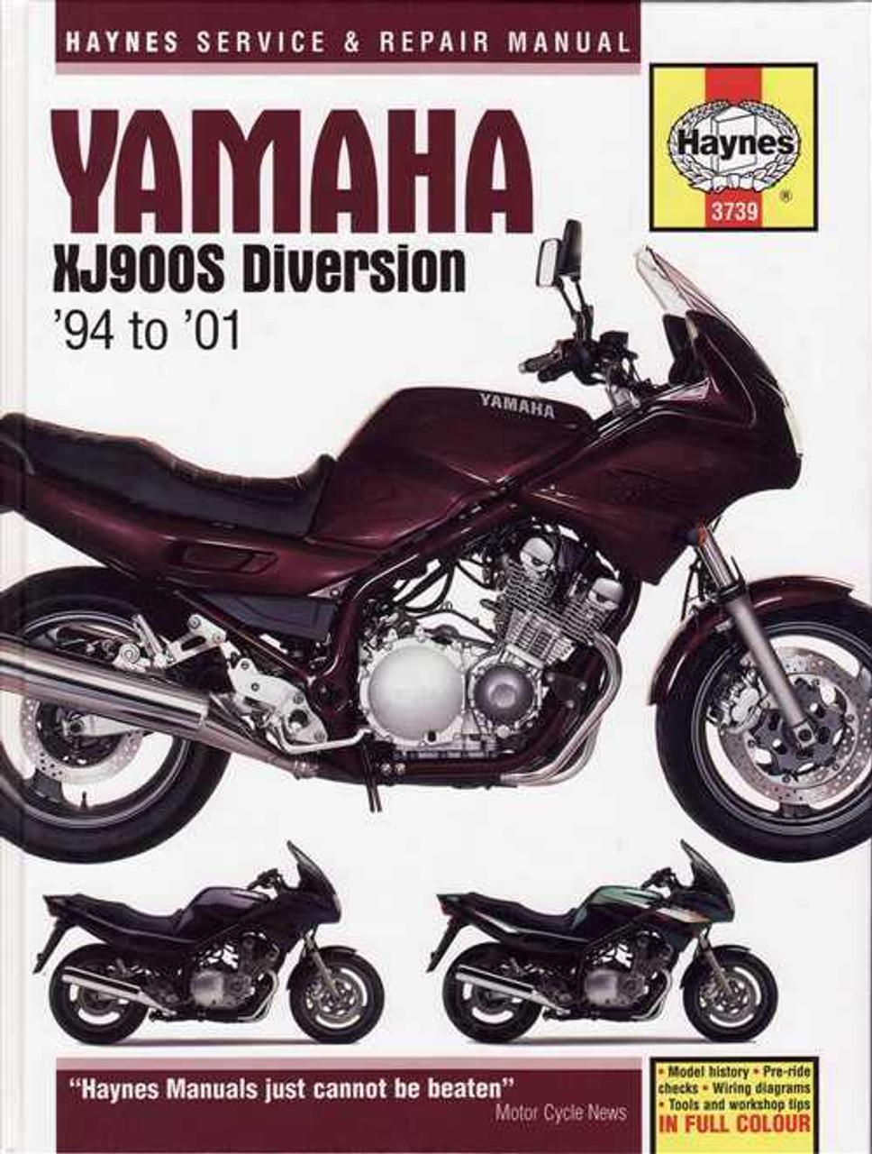 yamaha xj900s diversion 1994 2001 workshop manual rh automotobookshop com au yamaha xjr 1200 owners manual download yamaha xjr 1200 service manual download