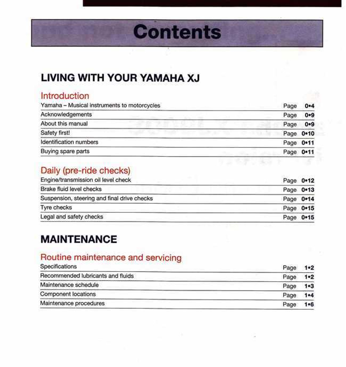 yamaha xj900s diversion 1994 2001 workshop manual rh automotobookshop com au yamaha xj900s diversion service repair manual Yamaha XJ 900