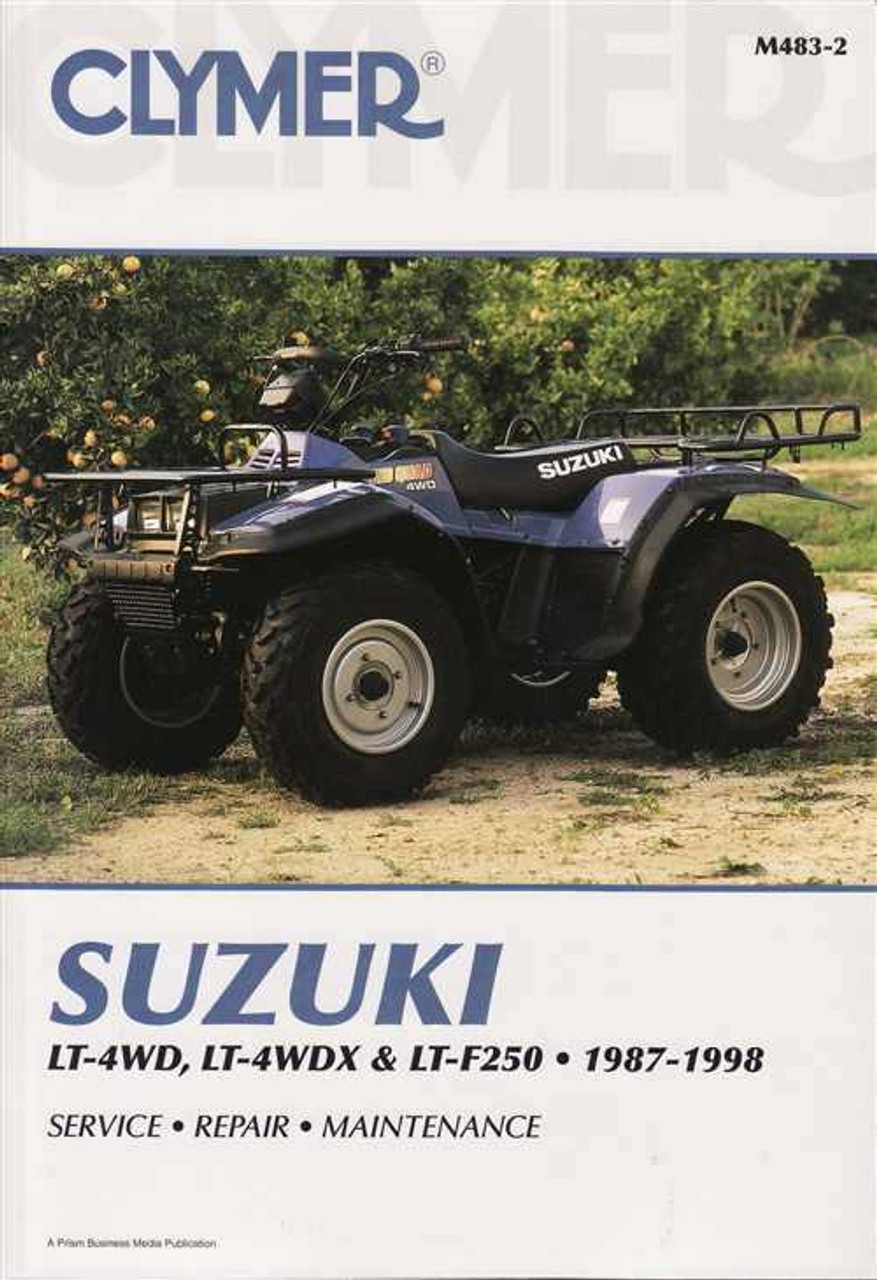suzuki atv lt 4wd lt 4wdx amp lt f250 1987 1998 workshop manual rh automotobookshop com au suzuki atv service manual pdf suzuki 250 atv service manual