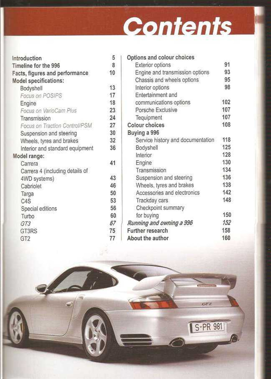 Porsche 911 (996) 1997 - 2005: Ultimate Buyers' Guide