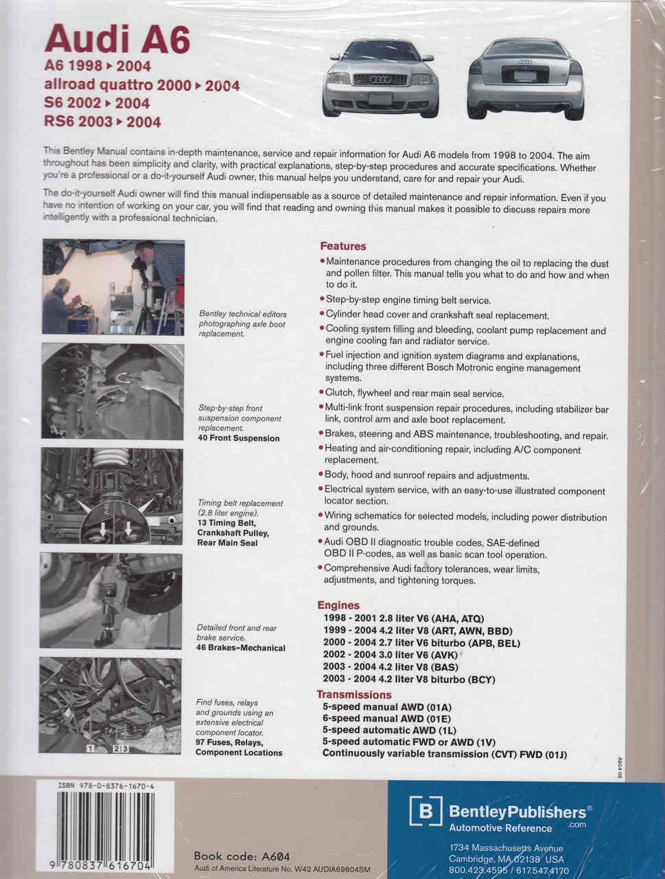 2001 audi allroad repair manual user guide manual that easy to read u2022 rh lenderdirectory co repair manual audi a6 repair manual audi a6 c5 pdf