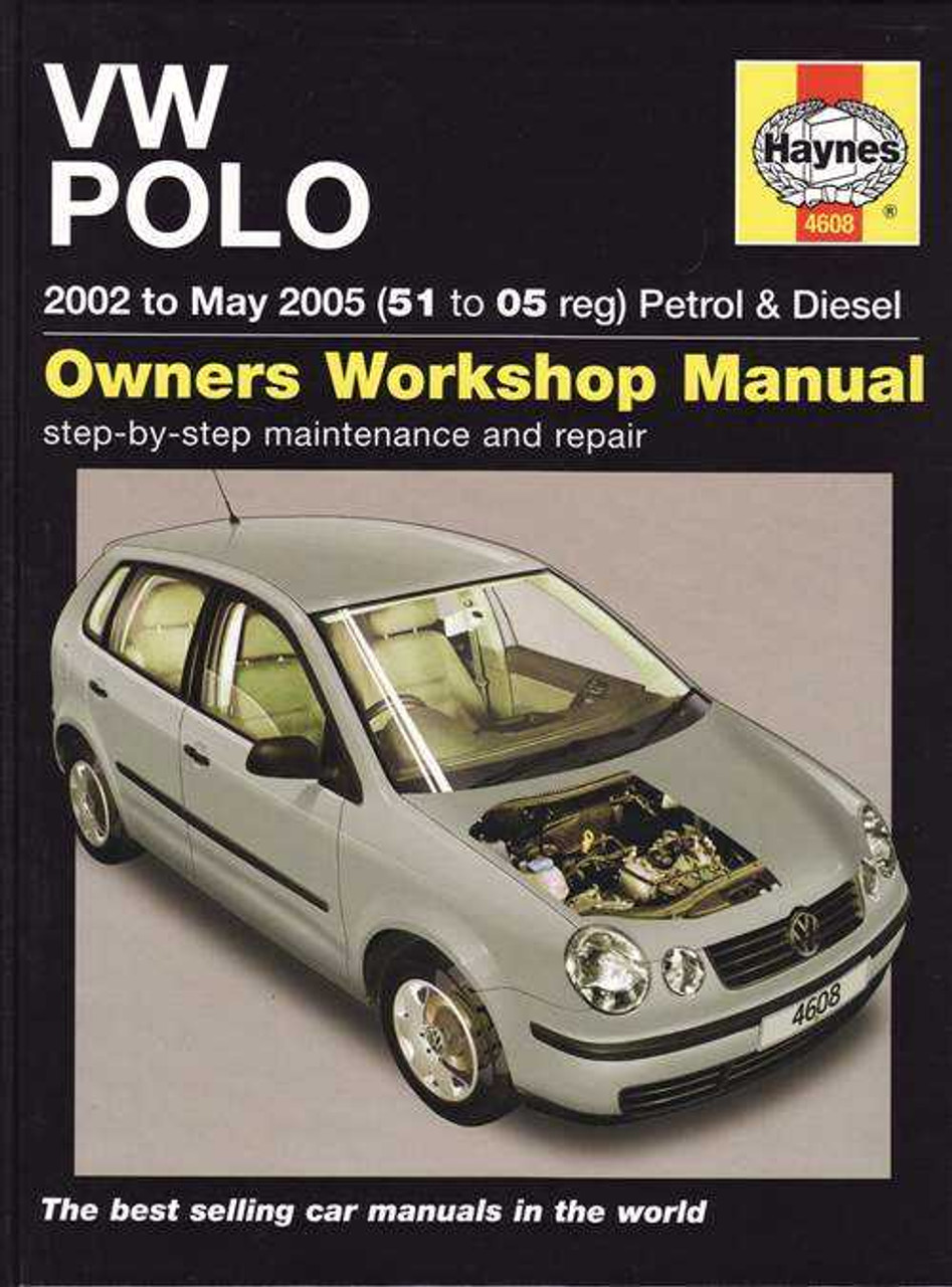 volkswagen polo 2002 to 2005 workshop manual rh automotobookshop com au vw polo workshop manual free volkswagen polo service manual pdf