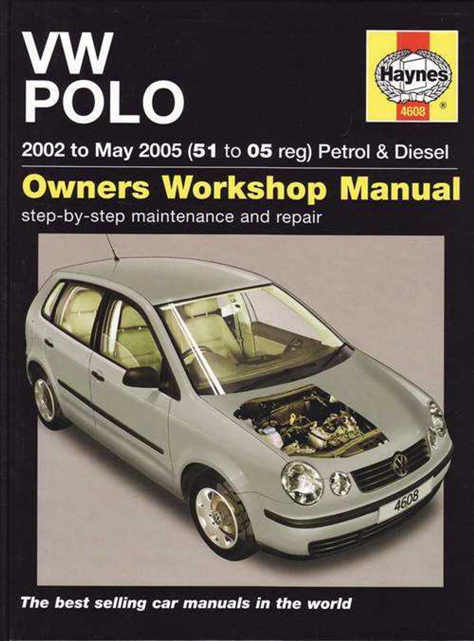 volkswagen polo 2002 to 2005 workshop manual rh automotobookshop com au VW Hatchback Volkswagen Car Names
