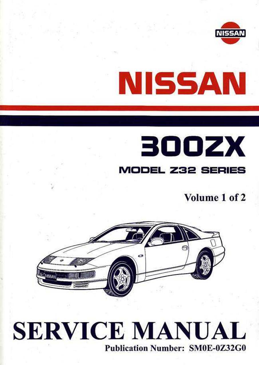 nissan 300zx model z32 series twin turbo 1990 onwards workshop manual rh automotobookshop com au 1995 Nissan 300ZX Red 1995 Nissan 300ZX Red