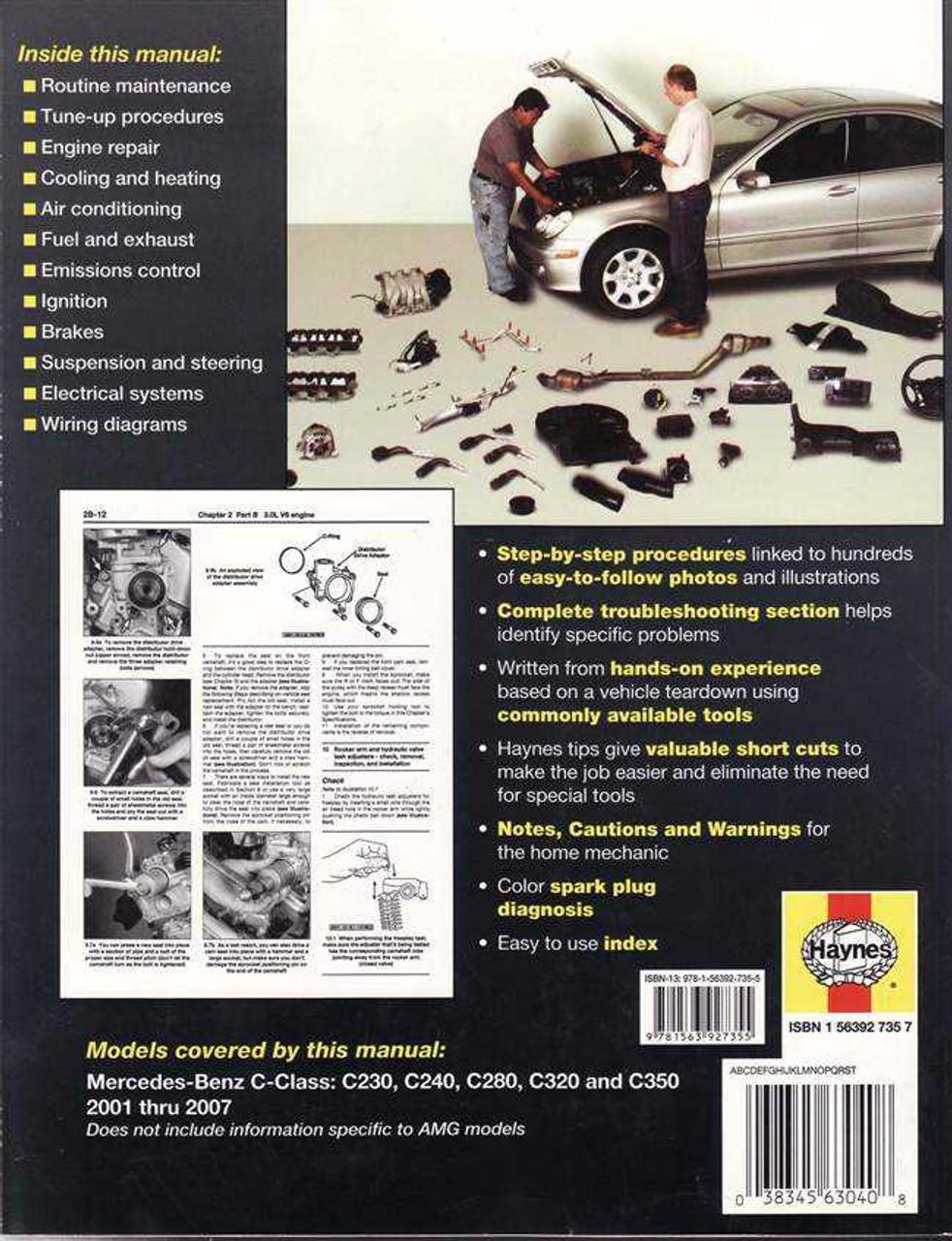Mercedes - Benz C-Class 2001 - 2007 Workshop Manual