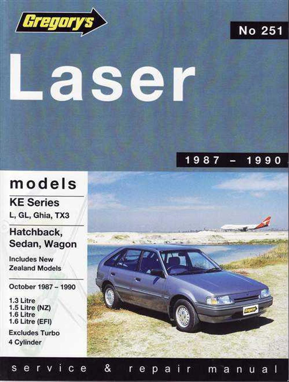 ford laser ke series 1987 1990 workshop manual rh automotobookshop com au Sri Lanka 1981 Ford Laser Sri Lanka 1981 Ford Laser