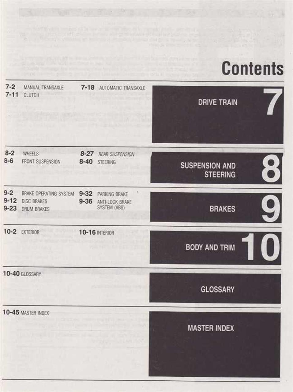 Hyundai Accent  Elantra  Excel  Scoupe  Sonata 1994