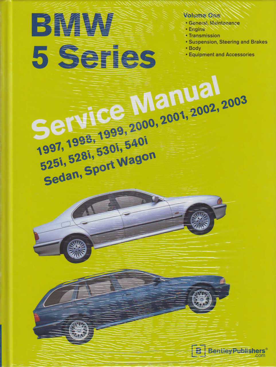 ... BMW 5 Series E39 525i, 528i, 530i, 540i 1997 - 2003 Workshop Manual ...