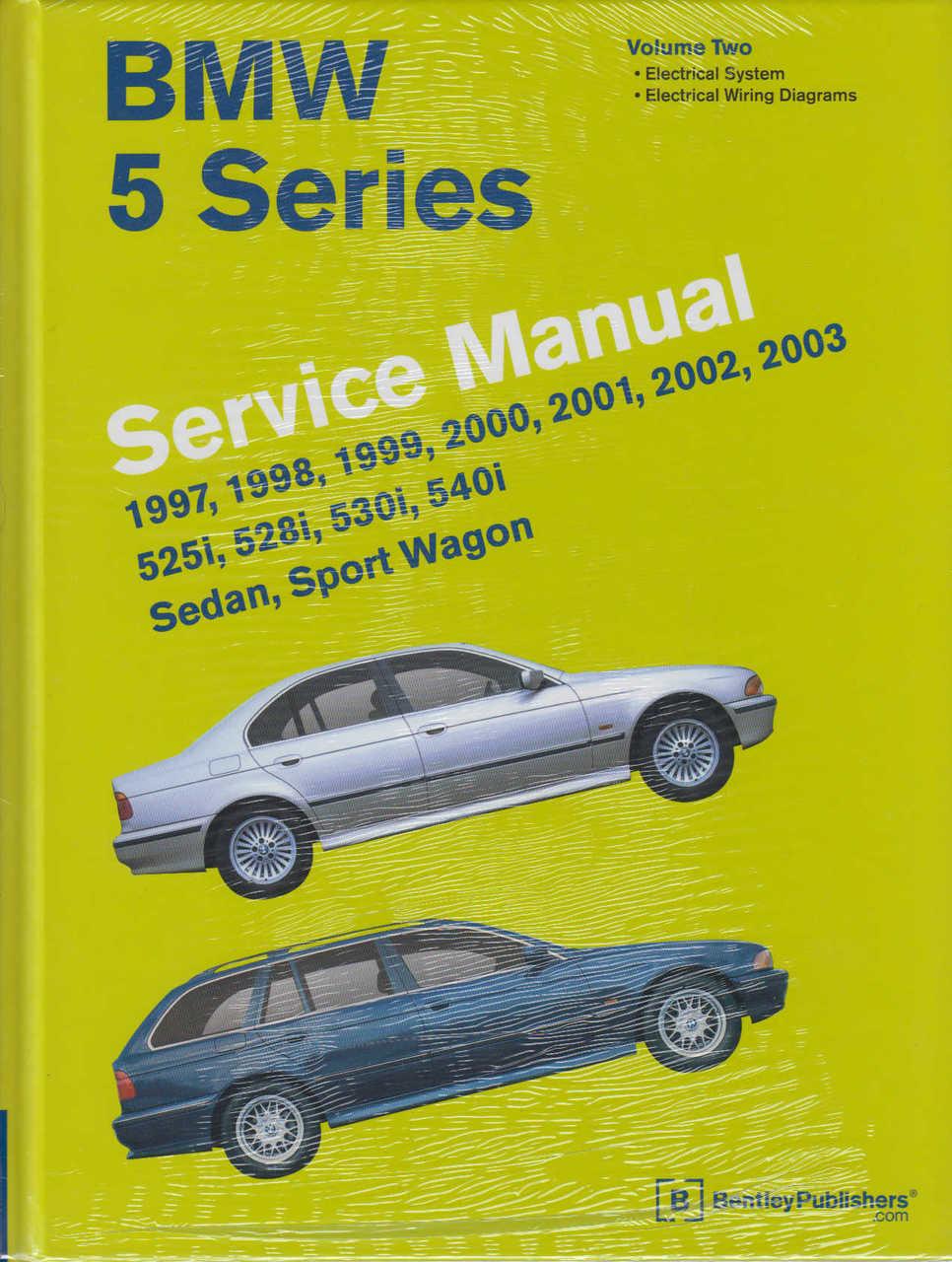 bmw 5 series e39 1997 2003 workshop manual rh automotobookshop com au