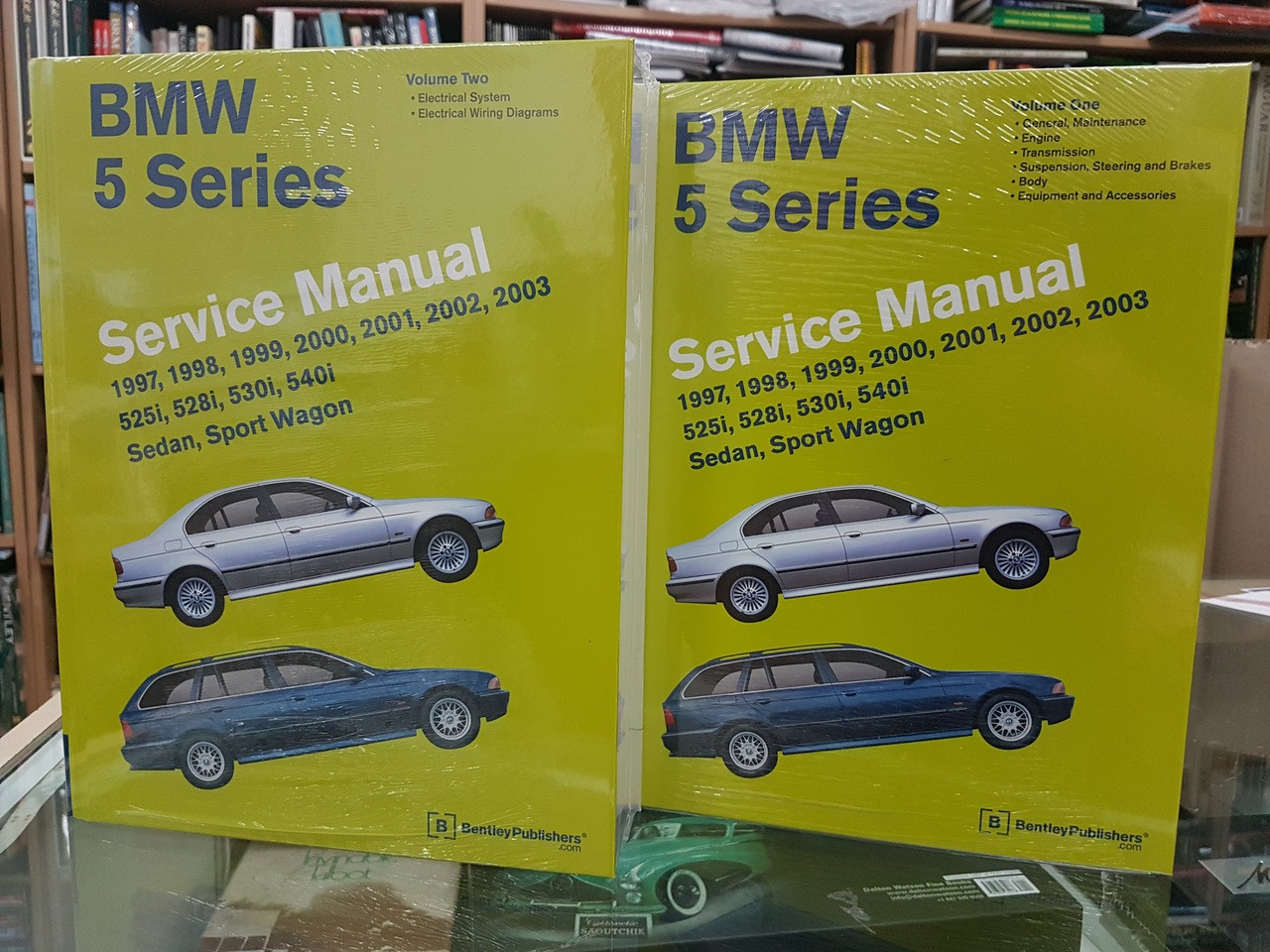 Bmw 5 Series E39 1997 2003 Workshop Manual 1994 525i Wiring Diagram 528i 530i 540i