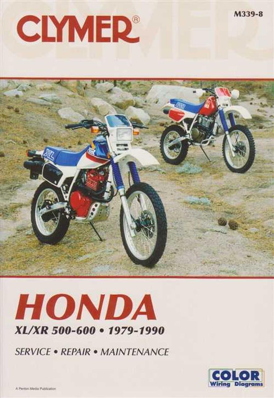 honda xl xr 500 600 1979 1990 workshop manual rh automotobookshop com au