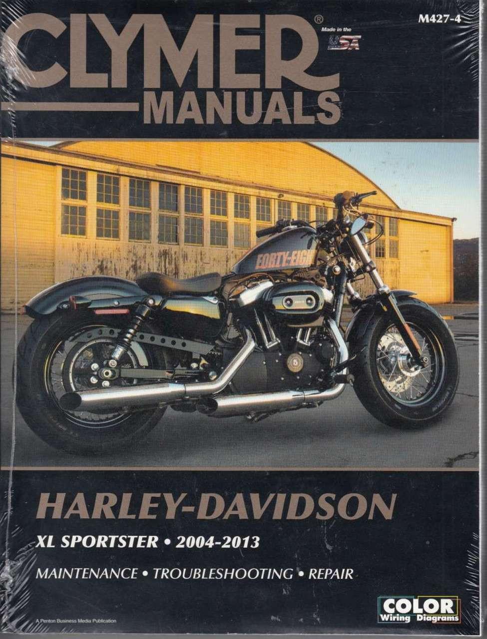 Harley Davidson Xl Sportster 2004 2013 Workshop Manual 72 Wiring Diagram