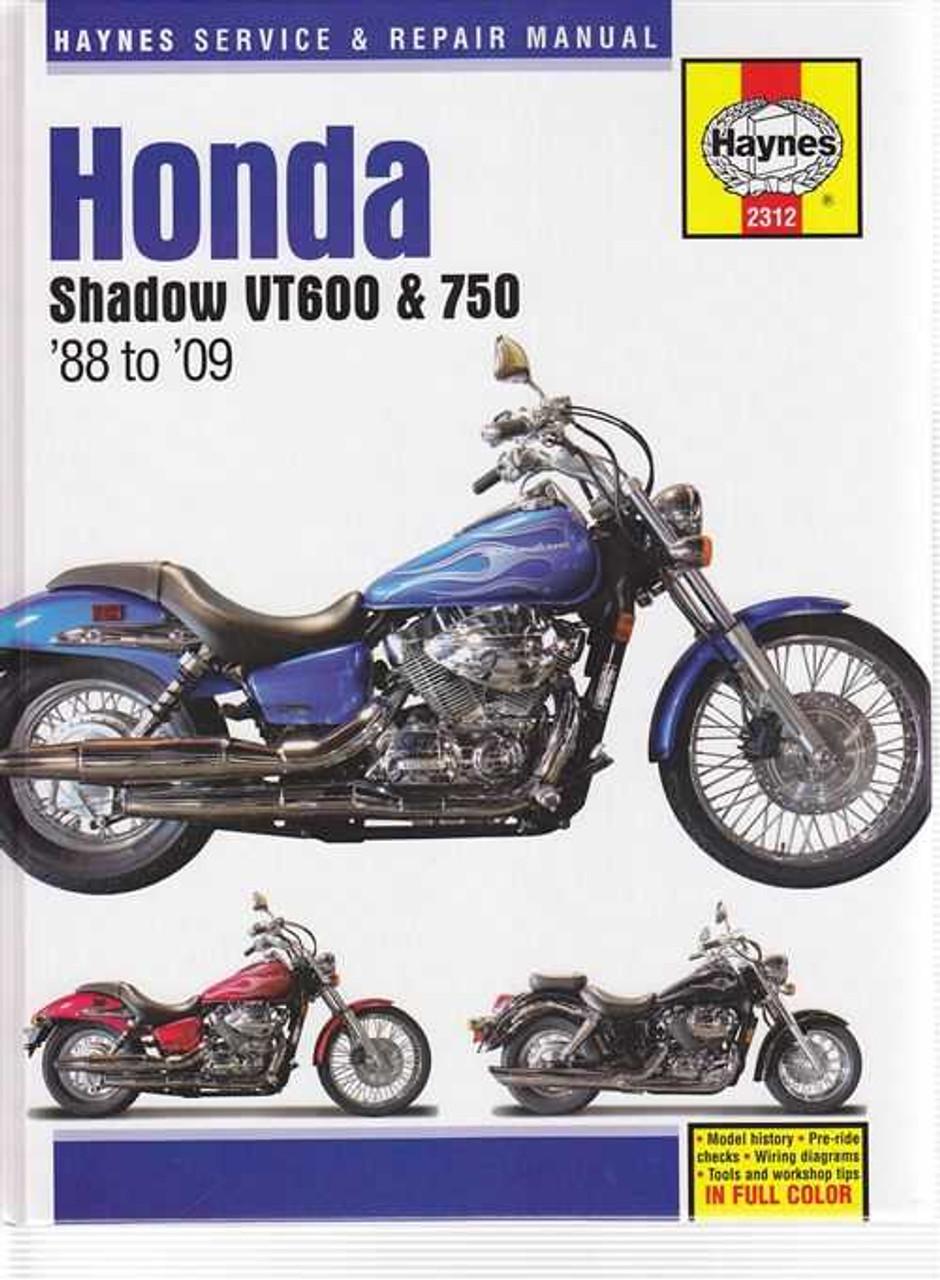 honda shadow vt600 vt750 1988 2009 workshop manual rh automotobookshop com au vt750 ace wiring diagram honda shadow vt750 wiring diagram