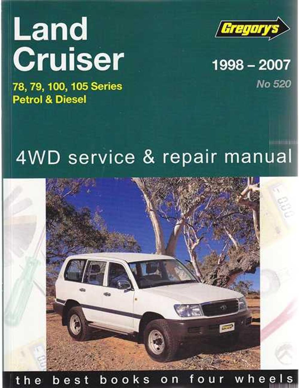 Toyota Land Cruiser 78  79  100 And 105 Series 1998
