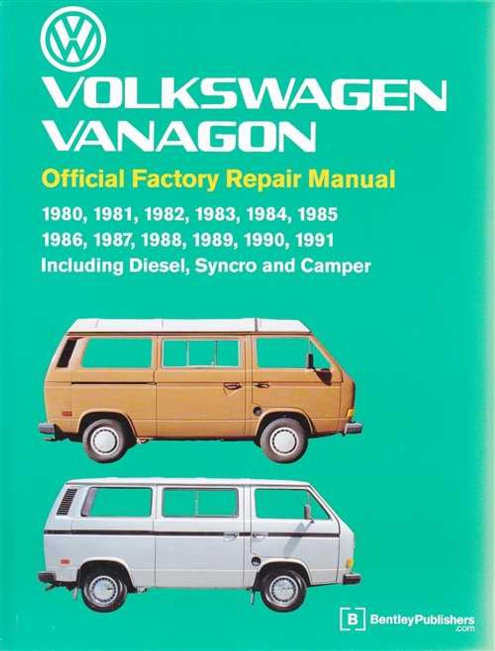 volkswagen vanagon 1980 1991 workshop manual rh automotobookshop com au Volkswagen Transporter Interior Old Volkswagen Transporter