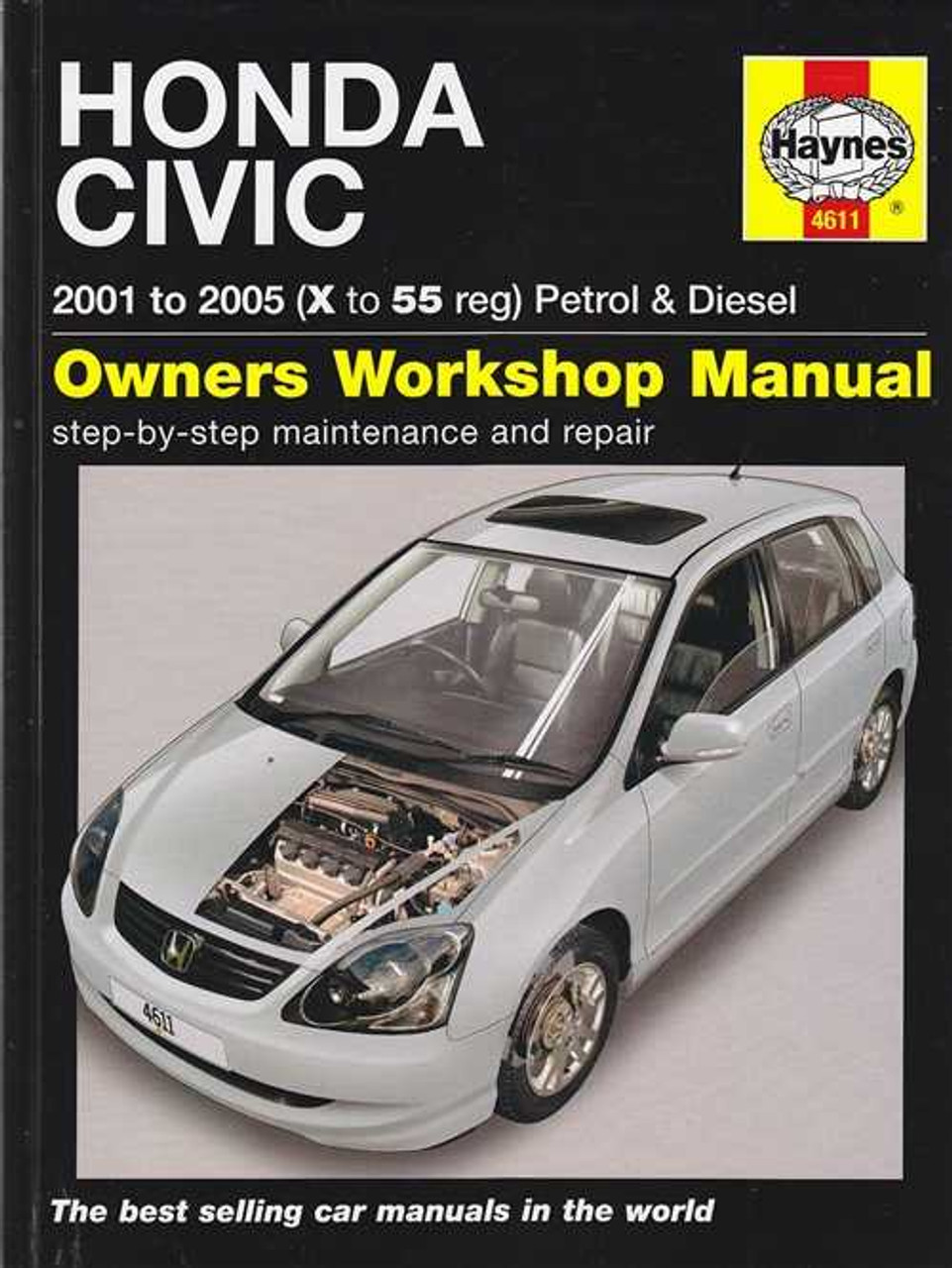 honda civic petrol and diesel 2001 2005 workshop manual rh automotobookshop com au 2006 Honda Civic Torque Specifications Honda Civic User Manual