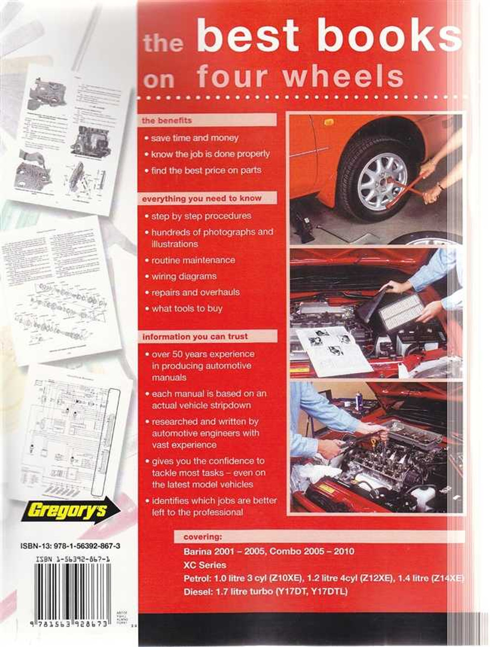 holden barina combo xc series petrol diesel 2001 2010 workshop rh automotobookshop com au Opel Automobiles Avto Opel