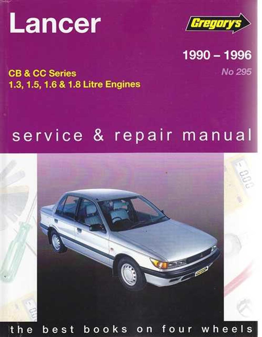 mitsubishi lancer cb cc petrol 1990 1996 workshop manual rh automotobookshop com au Haynes Manual Monte Carlo Back Haynes Manual for Quads