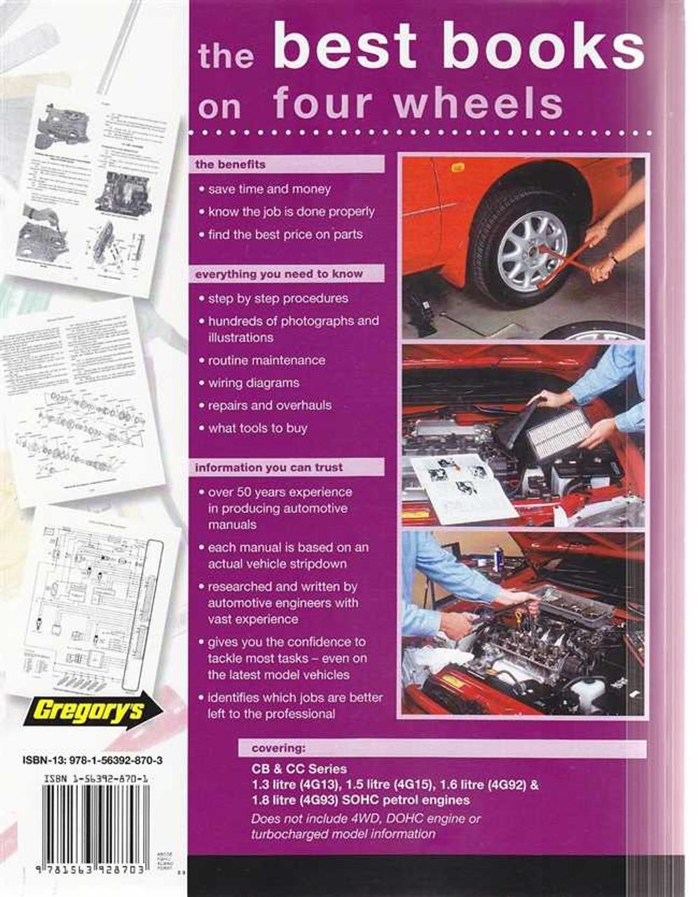mitsubishi lancer cb cc petrol 1990 1996 workshop manual rh automotobookshop com au Saab 99 Haynes Manuals Clymer Manuals