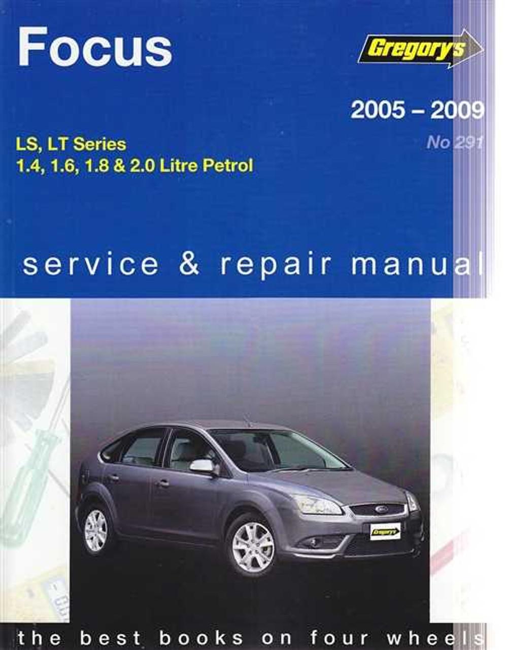 Ford Focus Ls Lt Series Petrol   Workshop Manual Rh Automotobookshop Com Au Ford Fiesta Zetec Service Manual Ford Zetec Owners Manual
