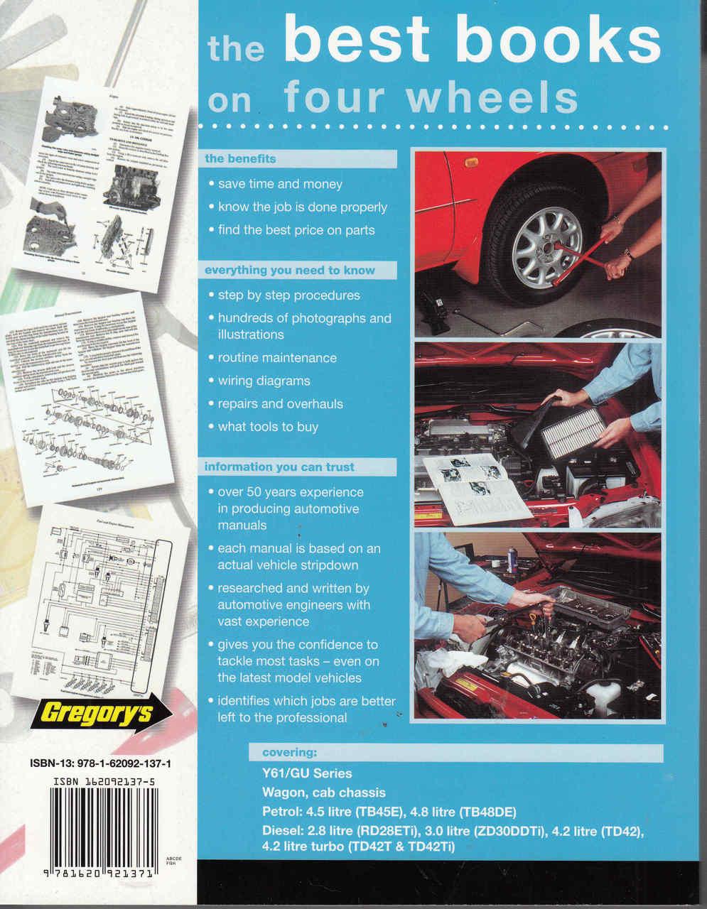 ... Nissan Patrol Y61 / GU Series Petrol, Diesel 1998 - 2014 Workshop Manual