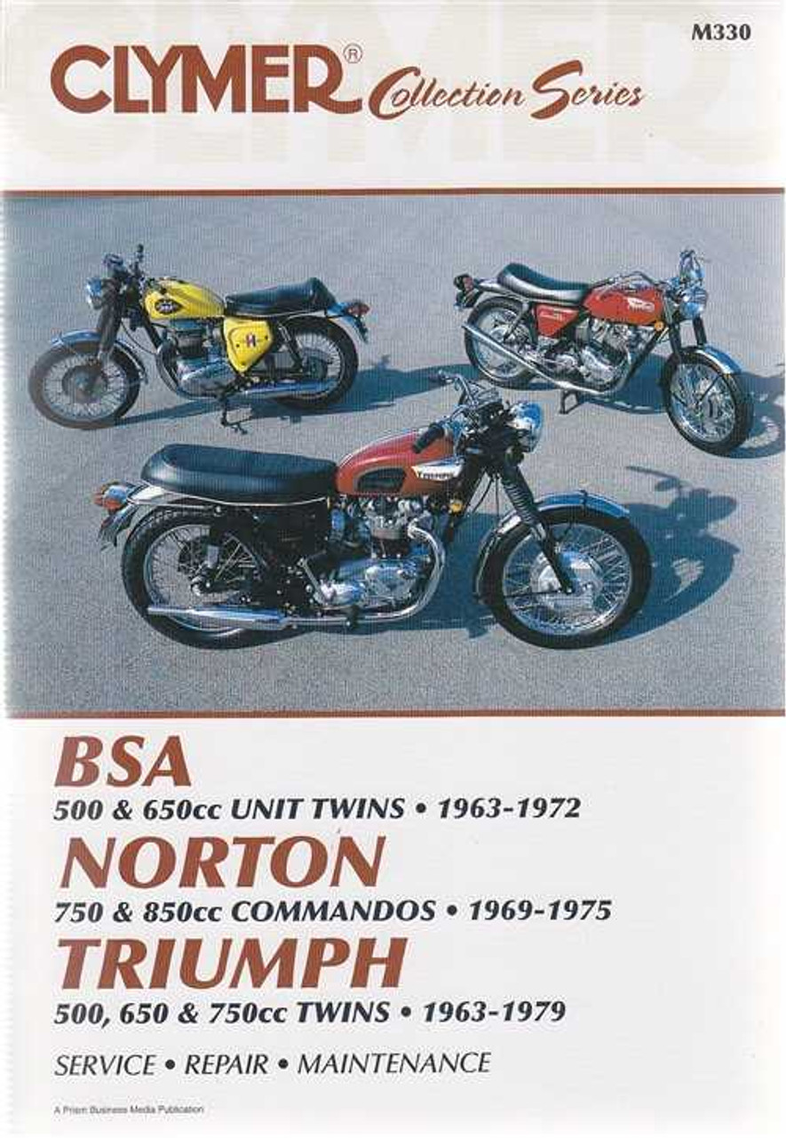 bsa norton triumph 1963 1979 workshop manual rh automotobookshop com au BSA 650 Rocket BSA Firebird Scrambler 650