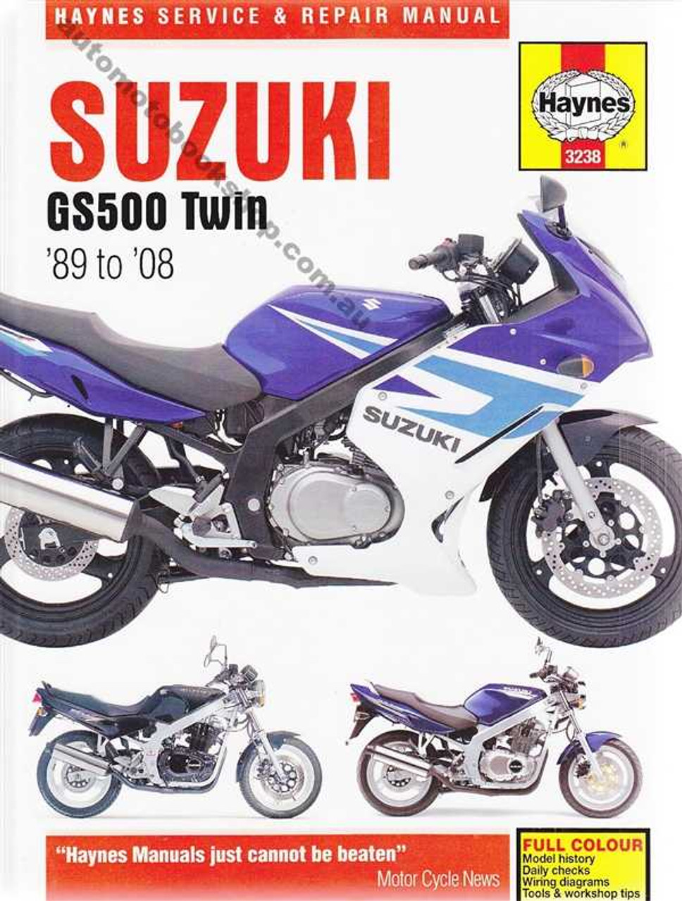 Gs500f owners manual.