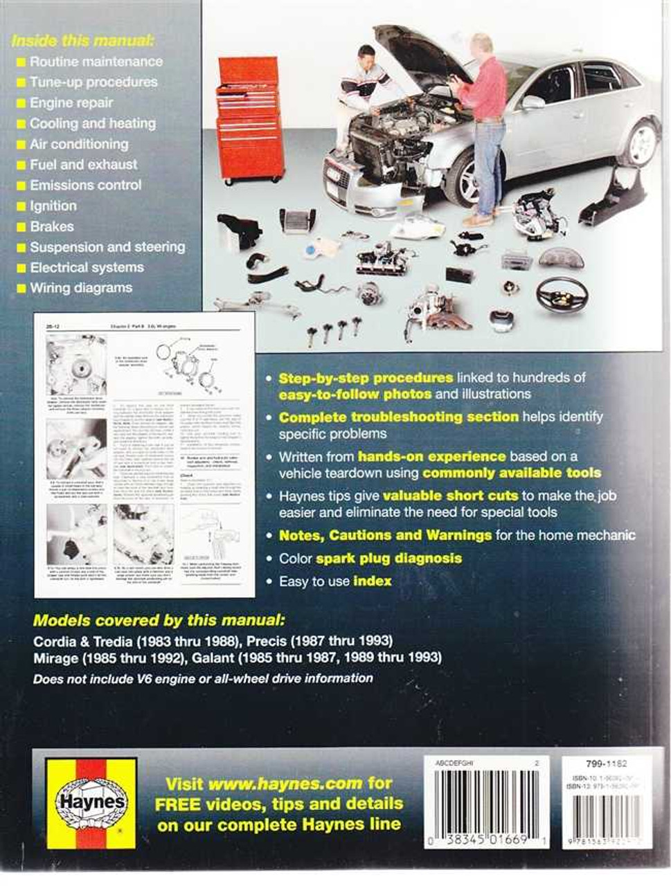 mitsubishi cordia tredia precis mirage galant 1983 1993 workshop manual rh automotobookshop com au Mitsubishi Montero Sport Engine Diagram 2002 Mitsubishi Galant Parts Diagram