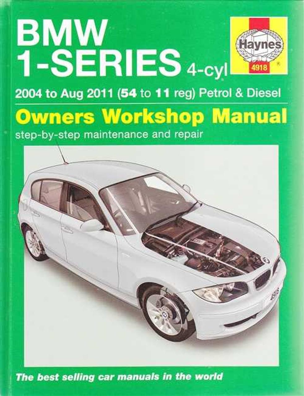 bmw 1 series e81 e87 e82 petrol diesel 2004 2011 workshop manual rh automotobookshop com au 2005 bmw 120i e87 manual bmw 120i e87 owners manual