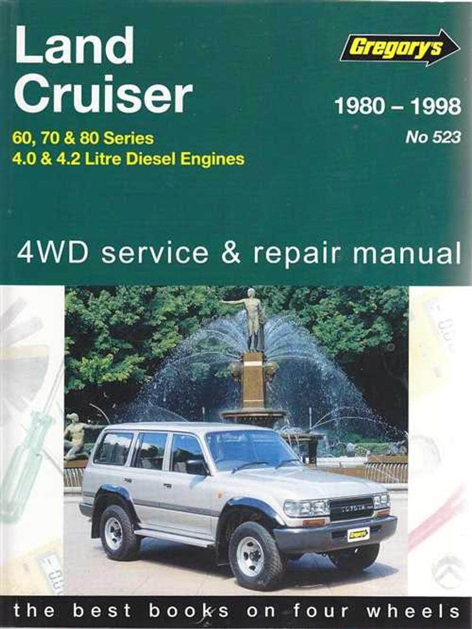 land cruiser 60 70 80 series 4 0l 4 2l diesel 1980 1998 rh automotobookshop com au Toyota T Engine 12H Toyota Hj70