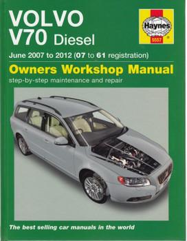 Volvo V70 Diesel 2007-2012 Repair Manual (front cover)
