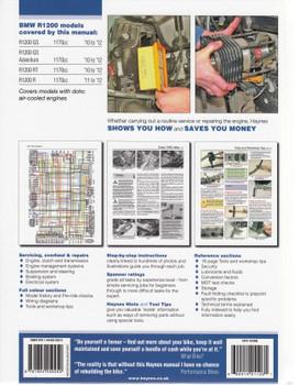 BMW R1200 DOHC Twins 2010 - 2012 Repair Manual