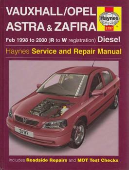 Holden (Vauxhall/Opel) Astra & Zafira 1998 - 2000 Diesel Repair Manual