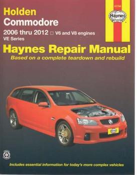 Holden Commodore VE Series 3.0, 3.6 Litre V6, 6.0, 6.2 Litre V8 2006 - 2012 Haynes Workshop Manual