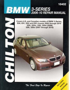BMW 3-Series, E90, E91, E92, E93 2006 - 2010 Repair Manual