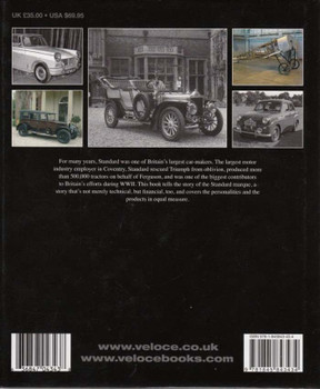 The Book Of The Standard Motor Company Back Cover