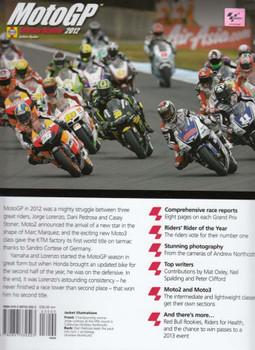 MotoGP Season Review 2012 Back Cover