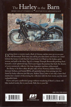 The Harley in the Barn: More Great Tales of Motorcycle Archaeology Back Cover
