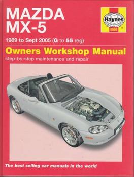 Mazda MX-5 1989 - 2005 Workshop Manual
